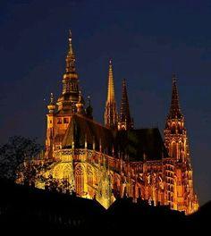 St.Vitus cathedral, Prague, Czechia  #Prague #Czechia #VisitCzechia