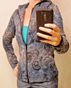 Sno-Skins-Women-039-s-Snow-Ski-Hoodie-Size-Small-Multi-Color-Made-in-USA