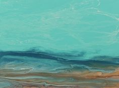 """Whispers on The Water III by  Coastal Living Art Acrylic ~ 18"""" x 24"""""""