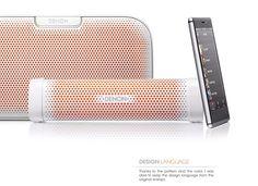 designcoalescence:DENON Speaker by beynelSpeaker DENON envaya mini by FEIZ design studio