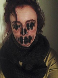 Maquillaje terrorífico - Imagui