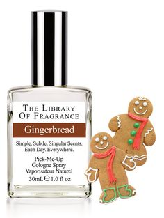 Gingerbread Cologne – Extraordinary scent & perfume from The Library of Fragrance – The Library of Fragrance