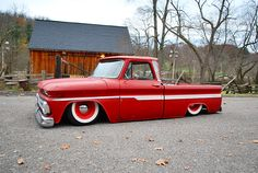 This is what I'm looking for right now.  62-66 short bed fleetside Chevy C-10.