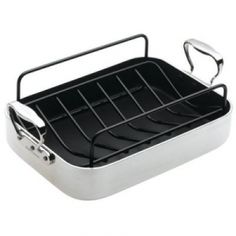 Oyster French Non-stick Roaster 35cm.