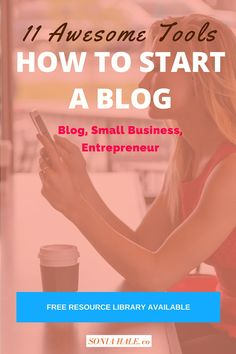 Click through to learn How To Start A Blog: 11 Tools To Get You Started! Great Tips and Tools to create a blog.