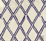 China Seas // Diamond Bamboo // Navy on Tint // 6710-02