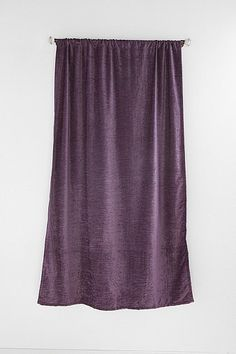 Textured Velvet Curtain - Urban Outfitters  ..or maybe these in my room?!