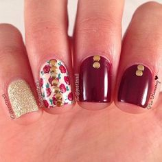Fashion Gliter Simple Cute Nails 30