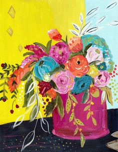 Bouquet Series No. 5 Original Painting