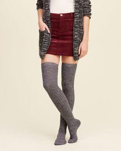 Girls Knee-High Socks | Girls Shoes & Accessories | HollisterCo.com