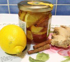 Bitkisel Antibiyotik ( zencefil,limon,bal,tarçın)