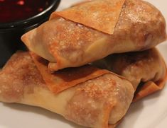 New Year�s Eve Appetizer: Baked Egg Rolls
