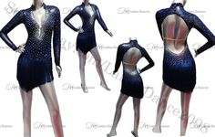 LATIN SALSA BALLROOM COMPETITION DRESS WITH HIGH QUALITY RHINESTONE M135A #latinodance2008 Latin Dance Dresses, Figure Skating Dresses, Ballroom Dance, Model Pictures, Dancing With The Stars, Dance Costumes, Competition, Christian Louboutin, Chiffon