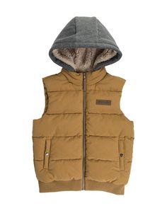 Hooded Gilet Jacket