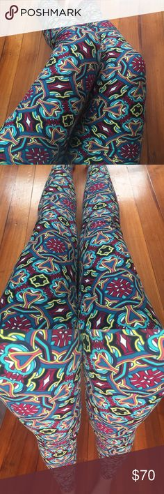 862083a85bc503 LulaRoe TC-OS Celtic Knots Coloring Book Leggings Brand new! ✨✨New with