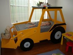 Front End Loader (Twin Size) Bed Woodworking Plan