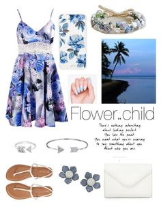 """Flower child"" by adriana-lizett11 on Polyvore featuring Aéropostale, EF Collection, Bling Jewelry, Sonix and Neiman Marcus"
