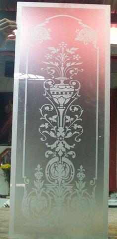 Cristales grabados al acido decorados para puertas y ventanas independencia doplim 256418 - Cristales al acido para puertas ...