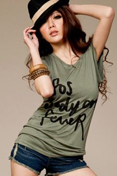 Buy Imiusa -Cursive Letters Long Cotton Tee  at ASOYA.com and enjoy Free Worldwide Express Delivery on qualifying orders Cursive Letters, Best Online Fashion Stores, Fashion Outfits, Womens Fashion, Asian Fashion, Cotton Tee, Perfect Fit, Identity, Delivery