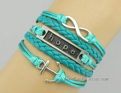 Hipster Jewelry charm leather by charmjewelrybracelet on Etsy, $10.99