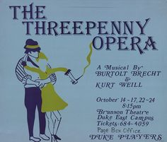 threepenny opera poster - Google Search