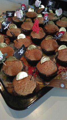 Pirat cupcake