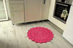 VlnaNaPredaj: Háčkovaný koberec