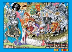 Mmm...notice how everyone is in armor but Luffy and Nami... KING AND QUEEN GUYS