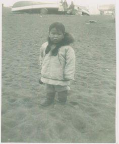 Inupiat boy at Barrow, Alaska - 1949