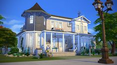 Sims 4 - Charme Rural Finally, it's a furnished version of the house from my first post with Cats and Dogs ! I'm really happy with the result, this one is smaller than my last lots, it will be perfect for a couple with one child. Info : 30x30 lot, 2 bedroom, 2 bathroom Download the tray files : SimFileShare Or use the tag #rope or my Origin ID simsontherope to find it on the gallery !