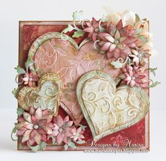 Hello Friends,  I have this Valentine's Day card up on the Tonic Studios  Blog created with some of their wonderful products. For complete i...