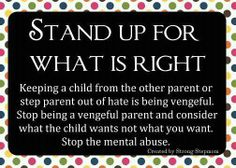 What to do about parental alienation http://myfathermatters.com/?p=74