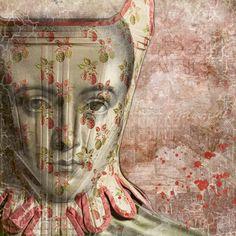 Marie Antoinette digital collage