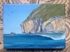 Yoyos surfing, Indonesia, acrylic on canvas Surfing, Paintings, Canvas, Art, Tela, Art Background, Surf, Painting Art, Painting