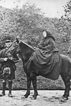 Queen Victoria, moun