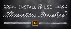How to Install & Use Illustrator Brushes