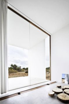 #architecture #design #interiors #windows #white spaces - Es Pujol De Sera / Marià Castelló Martínez