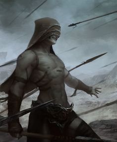 ArtStation - Ancient force warrior, Manuel Castanon