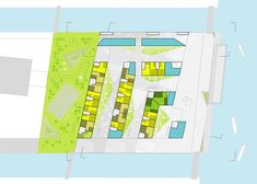 View the full picture gallery of Iceberg Urban Landscape, Landscape Design, Aarhus, Denmark, Floor Plans, How To Plan, Architecture, Gallery, Projects