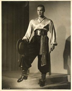 This man was Anthony Dexter or Rudolph Valentino.
