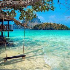 Krabi, Thailand ~ Photograph By @korsbrekke http://www.actuweek.com/go/amazon-thailande.php