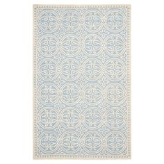 Safavieh Cambridge Light Blue & Ivory Area Rug