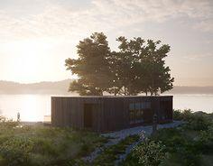 """Check out new work on my @Behance portfolio: """"House on the shore of Lake Cosmozero in Karelia."""" http://be.net/gallery/54851989/House-on-the-shore-of-Lake-Cosmozero-in-Karelia"""