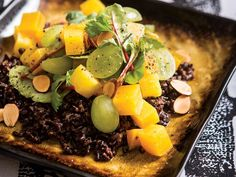 Curried Golden Beets with Black Rice and Baby Chard (gluten free!) #MeatlessMonday