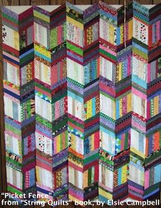 string quilt patterns. | Awesome string quilt! | Patterns