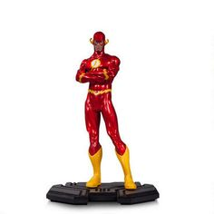 Part of the DC Comics Icons series, this 1:6 scale statue features the Flash #DCCollectibles #Flash