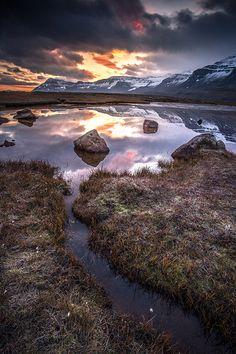 Frosty morning, Seydisfjördur, Iceland  by ~Bernhard Pfister