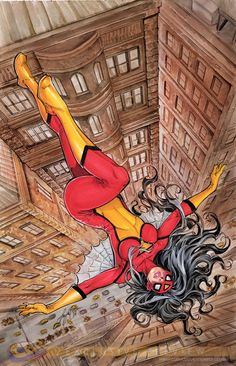 "Images for : The Mixed Message of Manara's ""Spider-Woman"" Variant, Reason For No ""Big Hero 6"" Plans - Comic Book Resources"