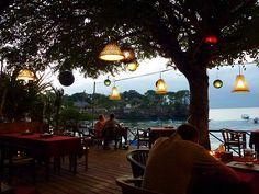 Restaurant at Mushroom Bay, Nusa #Lembongan, #bali