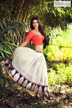Bridal Indian Reception Lengha- more inspiration @ http://www.ModernRani.com